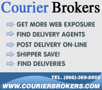 Search for loads, bid on jobs on Courierbrokers